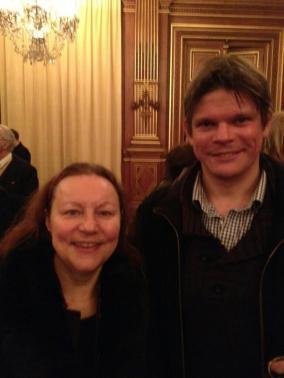 Avec Marie Thérése