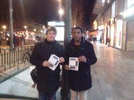 Moi et Andrew à République