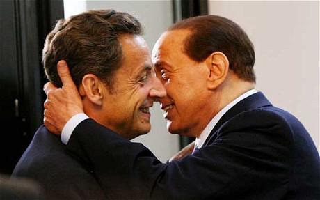 Sarkozy Berlusconi